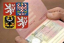 Обозначении чешских виз