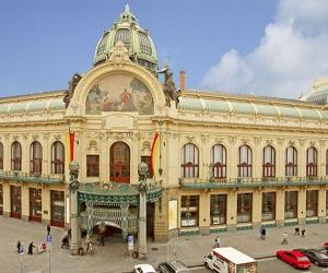 Общественный дом в Праге. История и строительство